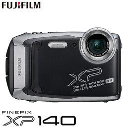 FinePix 【即納】【キャッシュレス5%還元店】富士フイルム タフネスカメラ FinePix XP140 防水 耐衝撃 防塵 耐寒 4K動画 デジタルカメラ XPシリーズ FX-XP140DS ダークシルバー【送料無料】【KK9N0D18P】