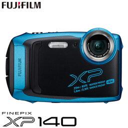 FinePix 【即納】【キャッシュレス5%還元店】富士フイルム タフネスカメラ FinePix XP140 防水 耐衝撃 防塵 耐寒 4K動画 デジタルカメラ XPシリーズ FX-XP140SB スカイブルー【送料無料】【KK9N0D18P】