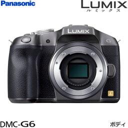 パナソニック パナソニック ミラーレス一眼 デジタル一眼カメラ LUMIX G6 ボディ DMC-G6-S シルバー 【送料無料】【KK9N0D18P】