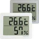 温湿時計 温湿度計:デジタル温度計湿度計O-226(壁掛・卓上)【メール便可¥260】