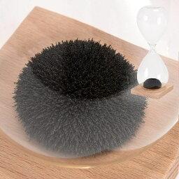 砂時計 砂時計:マグネットと砂鉄でユニークな砂の形になるサンドタイマー【メール便可¥320】