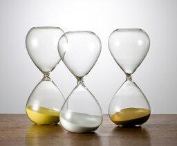 砂時計 砂時計 シンプル 60分計 ガラス ST-60 白 廣田硝子 送料無料