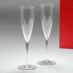 バカラ グラス バカラ Baccarat ドンペリニヨン シャンパンフルート ペア 23.4cm 150ml グラス 1845244