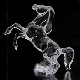 バカラ 馬 バカラ Baccarat クリスタル フィギュア 馬 ウマ クリア 大サイズ 2102328