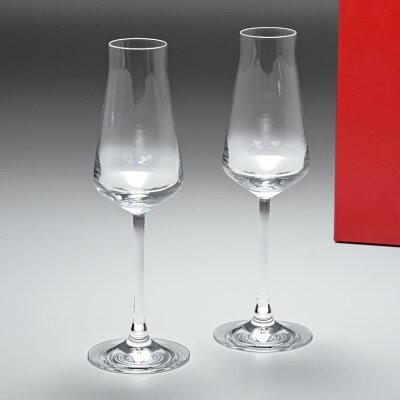 バカラ Baccarat グラス シャトーバカラ シャンパンフルート ペア 24cm 210cc 2611149 父の日