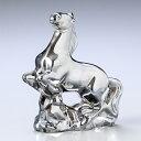 バカラ 馬 バカラ Baccarat クリスタル フィギュア ゾディアック 干支 馬 (午)ウマ シルバー 2804699