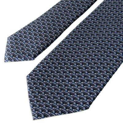 ダンヒル ネクタイ メンズ ブルー 大剣幅8cm シルク100% 19RPTP1SC410 MADE IN ITALY 父の日