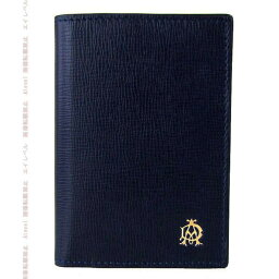 ダンヒル ダンヒル DUNHILL カードケース BELGRAVE NAVY CARD CASE ベルグレイブ ネイビー バイカラー L2T747N