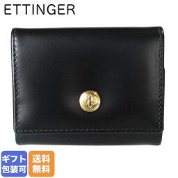 エッティンガー エッティンガー ETTINGER コインケース 小銭入れ メンズ BH145JR BLACK ブラック