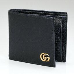 グッチ 財布(メンズ) グッチ GUCCI メンズ 二つ折り財布 DOLLAR ダラーカーフ ブラック 428725 DJ20T 1000 父の日