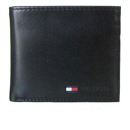 トミーヒルフィガー 財布(メンズ) トミーヒルフィガー TOMMY HILFIGER 二つ折り財布 メンズ ブラック 31TL25X016-001 0096 5475 01