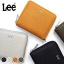 Lee リー 二つ折り財布 ラウンドファスナー ボックス型小銭入れ メンズ レディース ブランド 320-1133