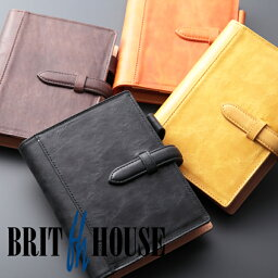 ブリットハウス ブリットハウス 手帳カバー ノートカバー ダンテホース A6 ホースプルアップレザー  brit house HTH-1110 本革 レザー 【楽ギフ_包装】