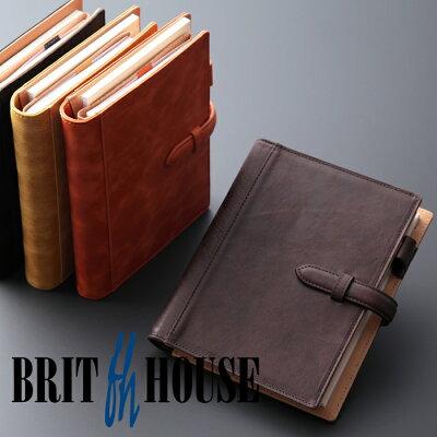 ブリットハウス 手帳カバー ノートカバー ダンテホース B6 ホースプルアップレザー  brit house HTH-1113 本革 レザー 【楽ギフ_包装】