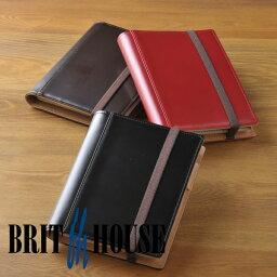 ブリットハウス ブリットハウス brit house THEME ガラスレザー A6 手帳カバー ノートカバー [高級本革][日本製] TH-1110 【楽ギフ_包装】