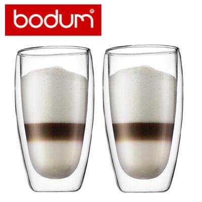 【日本正規品】bobum(ボダム)PAVINA double wall glass Lペアセットダブルウォールグラス【包装・のし無料】【ギフト推奨品】