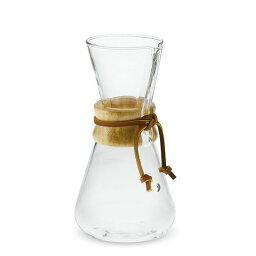 ケメックス ケメックス ガラス×ウッド 木 コーヒーメーカー Chemex Wood Collar Glass Coffee Maker