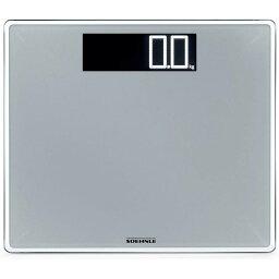 ツェーンレ スリムデザイン ツェーンレ 体重計 デジタルスケール ガラス シルバー Soehnle 63864 Style Sense Comfort Digital Bathroom Scale | Silver