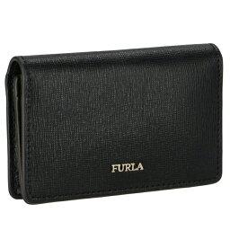 フルラ 名刺入れ フルラ FURLA BABYLON 二つ折り カードケース 名刺入れ ブラック PS04 B30 O60