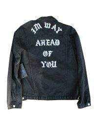 ユニフ UNIF/ユニフA HEAD OF YOU ジャケット black