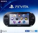 PSVITA PlayStation Vita Wi-Fiモデル ブラック[SCE]【送料無料】《発売済・在庫品》