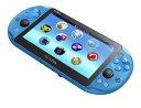 PSVITA PlayStation Vita Wi-Fiモデル アクア・ブルー[SCE]【送料無料】《発売済・在庫品》