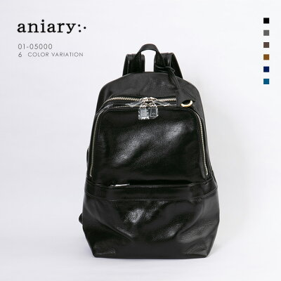 【aniary|アニアリ】Antique Leather アンティークレザー 牛革 Backpack バックパック 01-05000 [送料無料]