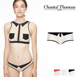 Chantal Thomass インナー 下着 【新作】フランス【ChantalThomass】シャンタルトーマスSINGULIERE ボクサー Nude-Blackカラー(T03A70)