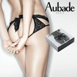 オーバドゥ ランジェリー フランス【Aubade】オーバドゥBOITE A DESIRチーキービキニNoirカラー(P020B)ギフトボックス入り