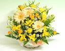 即日配送フラワー スプリング花 ギフト春のキラキラ黄色【即日配送】【歓迎 送迎】
