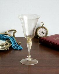 ベネチアガラス グラス グラス(ムラノガラス/ゴールド)