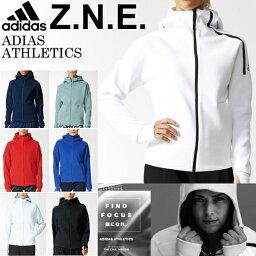 アディダス レディース adidas ZNE パーカーアディダス ウェア スポーツ ジャケット フード フィットネス ジム Z.N.E. アウター ウェア BJI40