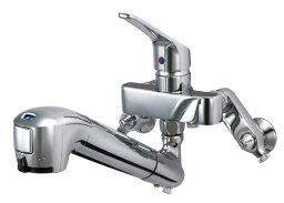タカギ タカギ キッチン用 蛇口一体型浄水器シングルレバー混合水栓・壁出しタイプ(固定型) JL136AN