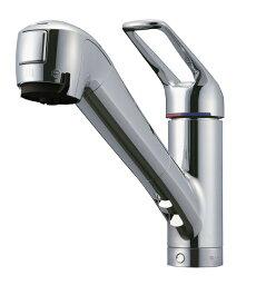 タカギ タカギ キッチン用 蛇口一体型浄水器シングルレバー混合水栓(ワンホール型) JL206MN-9NL2
