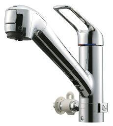 タカギ タカギ キッチン用 蛇口一体型浄水器シングルレバー混合水栓・食洗機対応(お湯分岐タイプ)JL226MN-NNGR