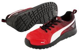 プーマ 【送料無料】 安全靴 マラソン レッド ロー 25.5cm 2018年ジャパンモデル PUMA(プーマ) 64.336.0 ( スニーカー 作業靴 作業用 ワーキングシューズ 安全シューズ セーフティーシューズ 先芯入りスニーカー ローカット メンズ ウォーキングシューズ )