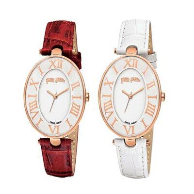 【並行輸入品】[Folli Follie] フォリフォリ 腕時計 レディース ROMANCE ロマンス レッド ホワイト レザー WF14R025SPS-RE WF14R025SPS-WH