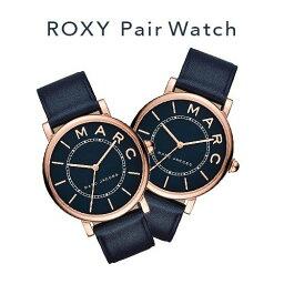 マークジェイコブス 腕時計(メンズ) 【並行輸入品】 マークジェイコブス ペアウォッチ ペア 時計 メンズ レディース 腕時計 Marc Jacobs ROXY ロキシー ペアウォッチ ネイビー ローズゴールド MJ1534