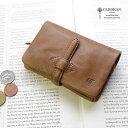 【メッセージカード・ラッピング無料】【選べるノベルティ大好評】CLEDRAN(クレドラン)NUA(ヌア)ADORE WALLET(M) 二つ折り財布 2折財布 S6218【日本製】