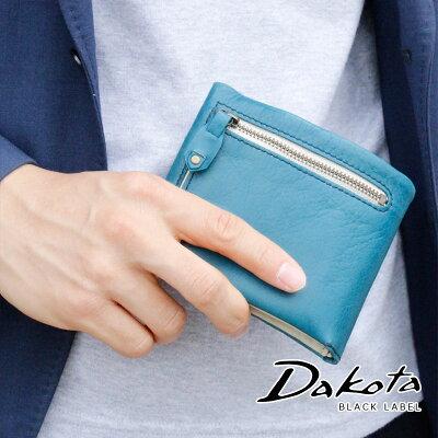 【選べるノベルティ大好評】2折財布 Dakota BLACK LABEL ダコタブラックレーベル バルバロ 0624701(0623001)