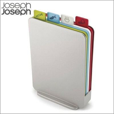 ジョセフジョセフ インデックス付まな板 アドバンス2.0 スリム シルバー カッティングボード JosephJoseph Index