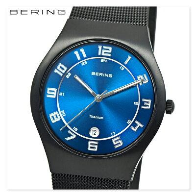 BERING ベーリング 11937-227 メンズ レディース ユニセックス スリム 時計 腕時計 プレゼント 贈り物 ギフト 彼氏 フォーマル カジュアル ペアウォッチ 北欧[あす楽]