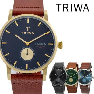 トリワ Triwa ファルケン FALKEN ユニセックス 付替えベルト付き 38mm メンズ レディース 腕時計 時計[あす楽]