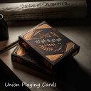 真っ黒 トランプ トランプ Union Playing Cards ユニオンプレイングカード カード アメリカ おしゃれ ギフト プレゼント アンティーク ビンテージ 独立戦争 歴史 ブラック カッパー 黒 デザイン 手品 テーブルゲーム