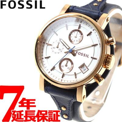 今日はneelがお得♪最大2000円OFFクーポン&店内ポイント最大46倍! フォッシル FOSSIL 腕時計 レディース オリジナルボーイフレンド ORIGINAL BOYFRIEND クロノグラフ ES3838
