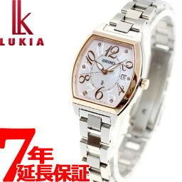 セイコー ルキア 腕時計(レディース) セイコー ルキア SEIKO LUKIA ソーラー 腕時計 レディース 綾瀬はるかイメージキャラクター SSVN026【36回無金利】