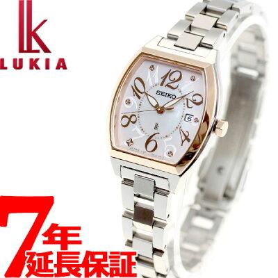 セイコー ルキア SEIKO LUKIA ソーラー 腕時計 レディース 綾瀬はるかイメージキャラクター SSVN026【36回無金利】