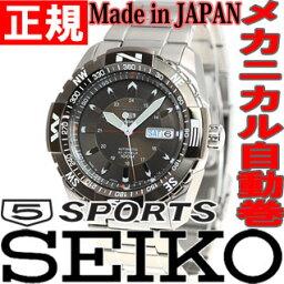 スポーツ セイコー5 スポーツ SEIKO5 SPORTS セイコーファイブスポーツ 腕時計 メンズ セイコー 逆輸入 自動巻き メカニカル SNZJ09J1(SNZJ09JC)【あす楽対応】【即納可】