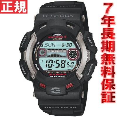 【今だけ!最大2000円OFFクーポン付!さらに店内ポイント最大43倍!】G-SHOCK 電波 ソーラー 腕時計 メンズ カシオ Gショック マスターオブG ガルフマン G-SHOCK GULFMAN GW-9110-1JF