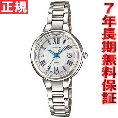 【本日20時〜お得!最大ポイント28倍!さらに最大1万円OFFクーポン配布!】カシオ シーン CASIO SHEEN ソーラー 腕時計 レディース アナログ SHE-4516SBY-7AJF
